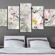 Obraz - magnolia - styl retro A0-N2872