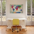 Obraz - Map of the world - an explosion of colors A0-N2538