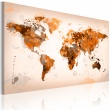 Obraz - Map of the World - Desert storm A0-N2552