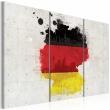 Obraz - Mapa Niemiec - tryptyk A0-N2065