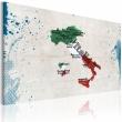 Obraz - Mapa Włoch A0-N2163