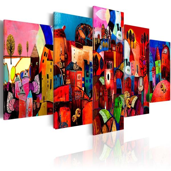Obraz - Miasto (100x50 cm) A0-N1173