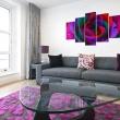 Obraz - Multicoloured rose A0-N2355