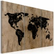 Obraz - Mysterious map of the World A0-N2062