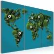 Obraz - Największe boisko świata - tryptyk A0-N2056