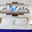 Obraz - Niebieskie motyle A0-N2823
