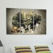 Obraz - Niedźwiedź w lesie A0-N3684