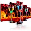 Obraz - Ogniste martini A0-N3169