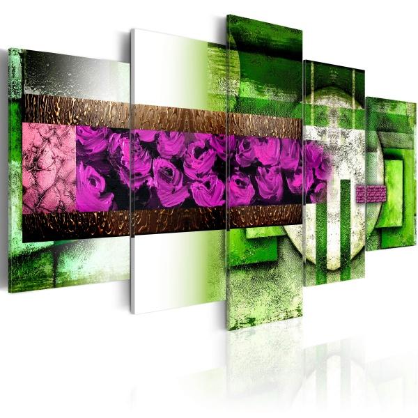 Obraz - Ogród-abstrakcja (100x50 cm) A0-N1316