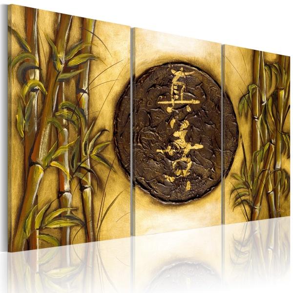 Obraz - Orientalny symbol (60x40 cm) A0-N1144