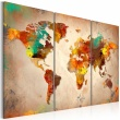 Obraz - Painted World - triptych A0-N2529