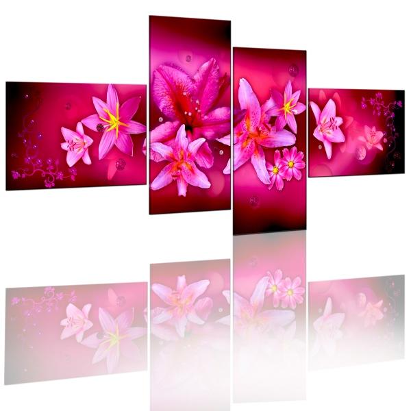 Obraz - Piękno lilii (100x45 cm) A0-N1182