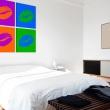 Obraz - Pocałunki: Pop art A0-N1921