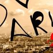 Obraz - Pocztówka z Paryża A0-N3353
