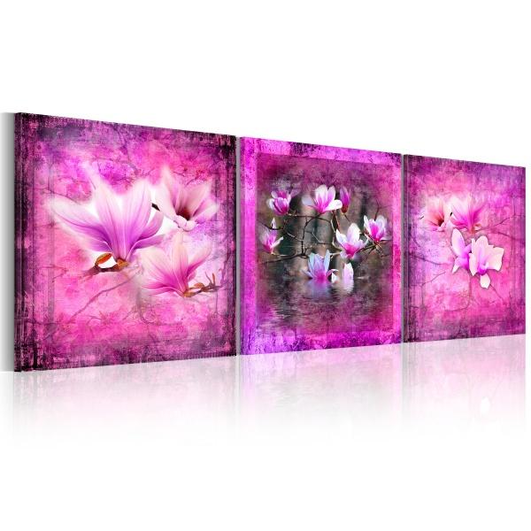Obraz - Różowe orchidee (120x40 cm) A0-N1035