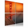Obraz - San Francisco - Most Golden Gate A0-N1972