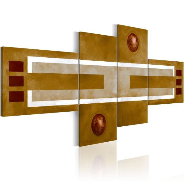 Obraz - Siena (100x45 cm) A0-N1282