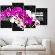 Obraz - Skromne orchidee A0-N2986