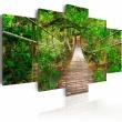 Obraz - Spacer pośród drzew A0-N2955