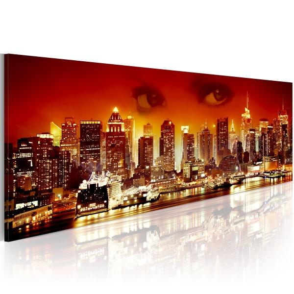 Obraz - Spojrzenie na Nowy Jork (120x40 cm) A0-N1185