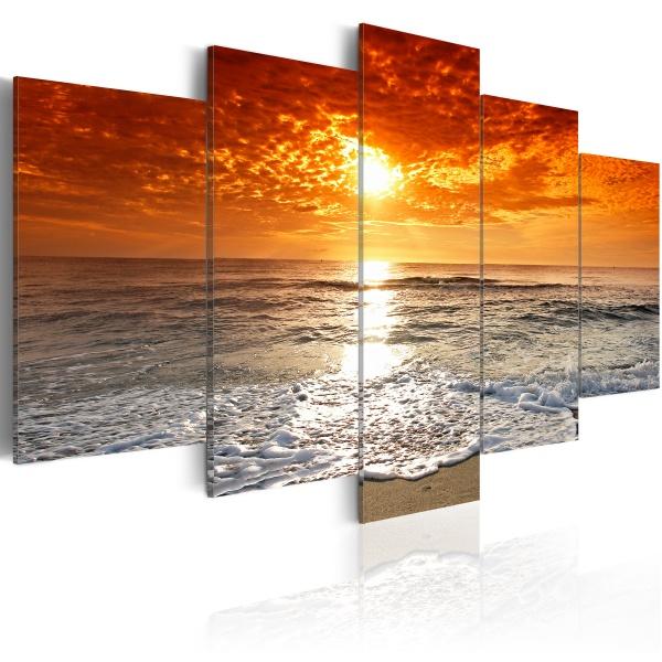 Obraz - Spokojny ocean (100x50 cm) A0-92392