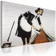 Obraz - Sprzątaczka (Banksy) A0-N1870