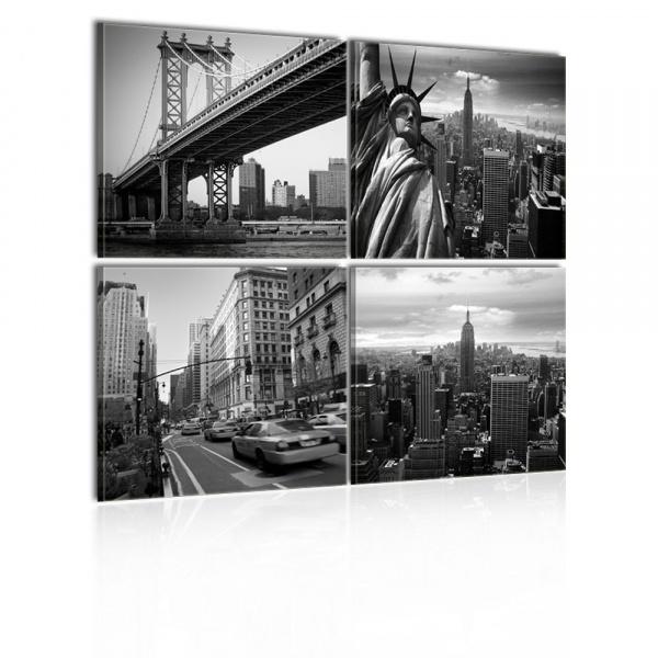 Obraz - Stylowy Nowy Jork (40x40 cm) A0-N1302