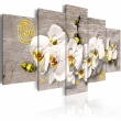 Obraz - Sunny orchids - 5 pieces A0-N2280