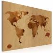 Obraz - Świat kawą malowany A0-N2030