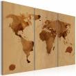Obraz - Świat kawą malowany - tryptyk A0-N2049