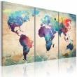 Obraz - Świat malowany akwarelami A0-N2017