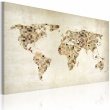 Obraz - Świat w odcieniach beżu A0-N2168