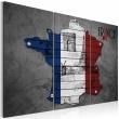 Obraz - Symbole Francji - tryptyk A0-N2138