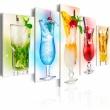 Obraz - Tęczowe drinki A0-N3073