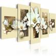 Obraz - Tekstura i magnolia A0-N2150