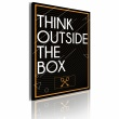 Obraz - Think outside the box A0-OBRPLK14