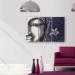 Obraz - Tryptyk, Budda i kwiat lotosu A0-N2224