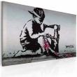 Obraz - Union Jack Kid (Banksy) A0-N1867