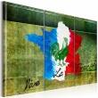 Obraz - Vive la France - tryptyk A0-N2120