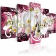 Obraz - Wariacja na temat orchidei A0-N2791