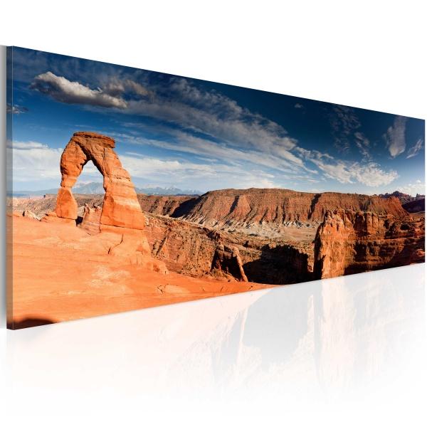 Obraz - Wielki Kanion - panorama (120x40 cm) A0-N1228
