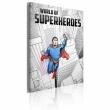 Obraz - World of superheroes A0-OBRPLK28