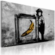 Obraz - Zainspirowane Banksym - black and white A0-N2922