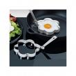 Obręcze do jajek sadzonych kwiatki Kuchenprofi 2 szt. KU-1026102800