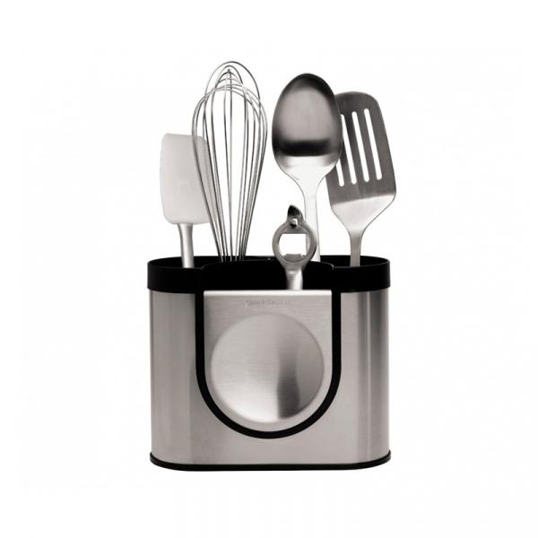 Ociekacz do sztućców i narzędzi kuchennych Simple Human KT1040