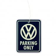 Odświeżacz zawieszka Parking Only 10x7,5x0,2 cm BRISA VW granatowy