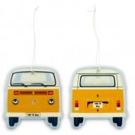 Odświeżacz zawieszka Vanilla 7x9x0,2 cm BRISA VW BUS pomarańczowa