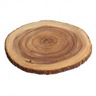 Okrągła deska do serwowania akacjowa 45 cm Zassenhaus