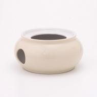Okrągły podgrzewacz 10 cm Kahla Pronto Colore beżowy