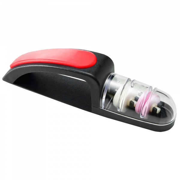 Ostrzałka wodna 440, MinoSharp PLUS ceramiczna czarno-czerwona HK-440/BR